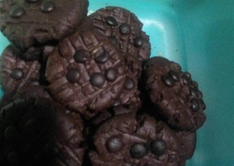 Cookies coklat chips tanpa oven