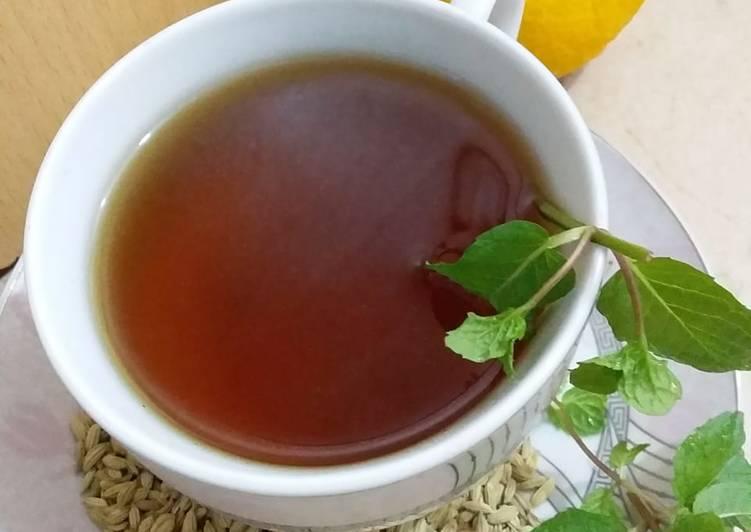Steps to Make Favorite Green Tea