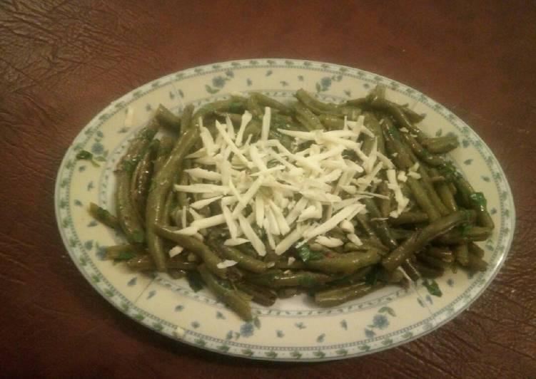 Salade des haricots verts