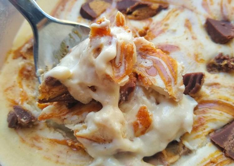 Recipe of Speedy Protein Ice Cream (Salted Caramel & Peanut Butter)