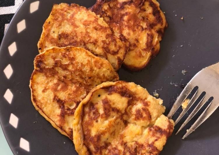 Resep Banana pancake Bikin Jadi Laper