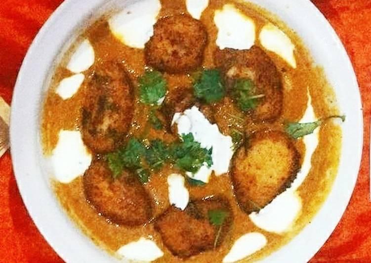 Steps to Prepare Perfect Pumpkin kofta curry