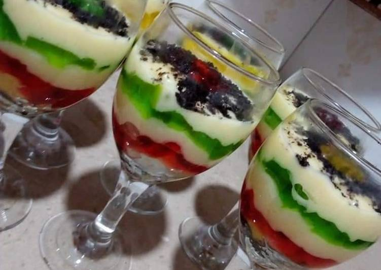 Step-by-Step Guide to Make Favorite Fruit custard