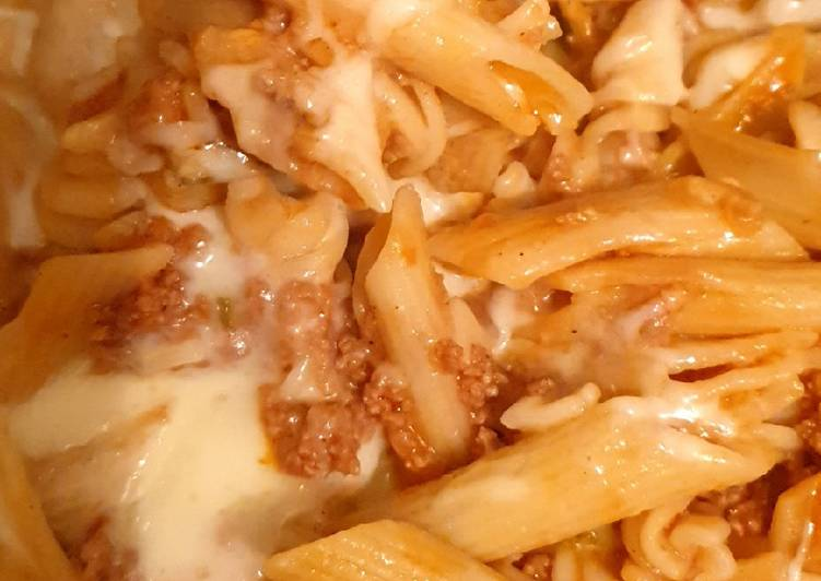 How to Prepare Top-Rated Cheesy penne pasta