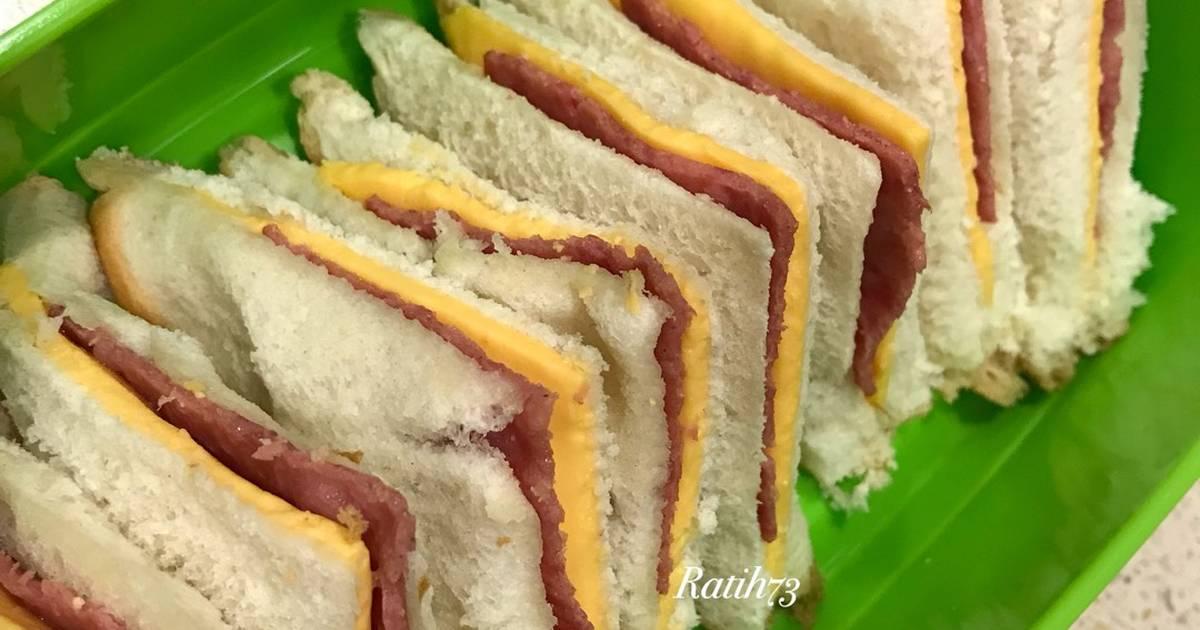 Resep Sandwich Super Simple Bekal Anak Oleh Ratih73 Indonesia Cookpad