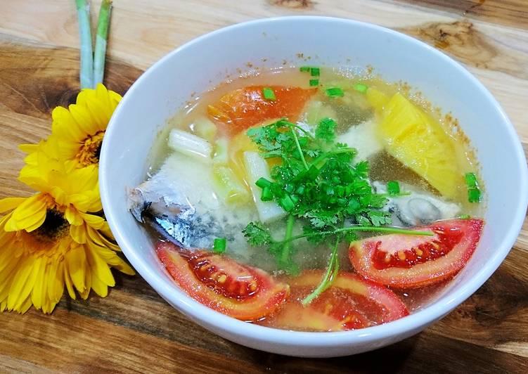 Kết quả hình ảnh cho Canh cá nấu dứa