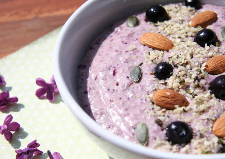 How to Prepare Tasty Petite crème violette aux graines de sarrasin