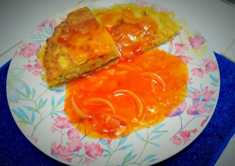 Resep Fuyunghai Telur Isi Sayur Oleh Ibuk Kanzia Cookpad