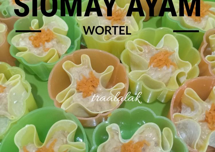 Siomay Ayam wortel - cookandrecipe.com