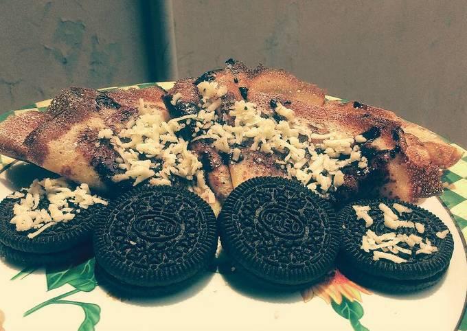 Crepes Oreo Coklat Keju