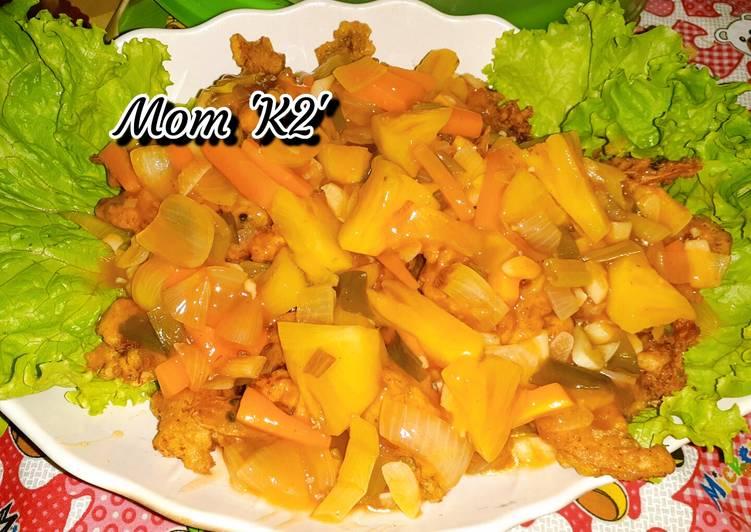 UDANG ASIS (UDANG ASAM MANIS) MOM 'K2'