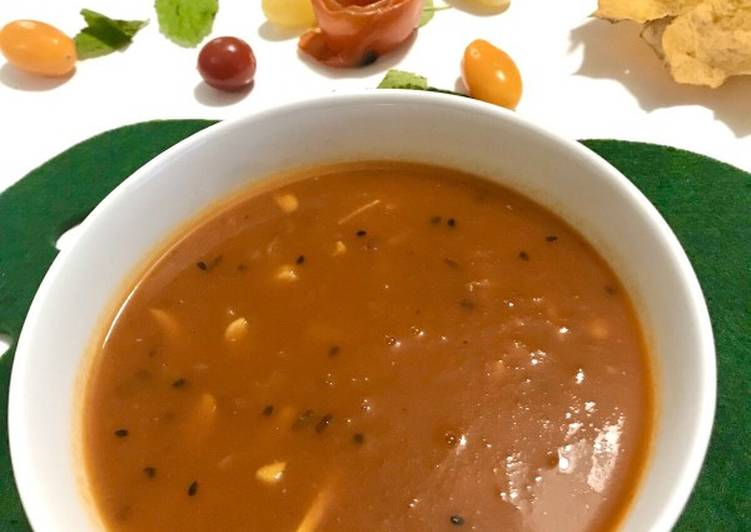 How to Prepare Ultimate Sweet and spicy tomato soup