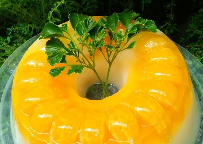 Jeruk Vitamin C~Puding Jeruk Susu