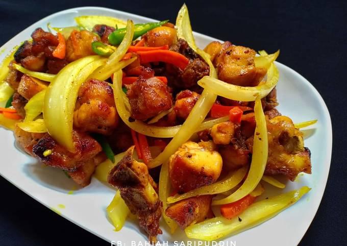 Ayam Goreng Kunyit Chef Cilik