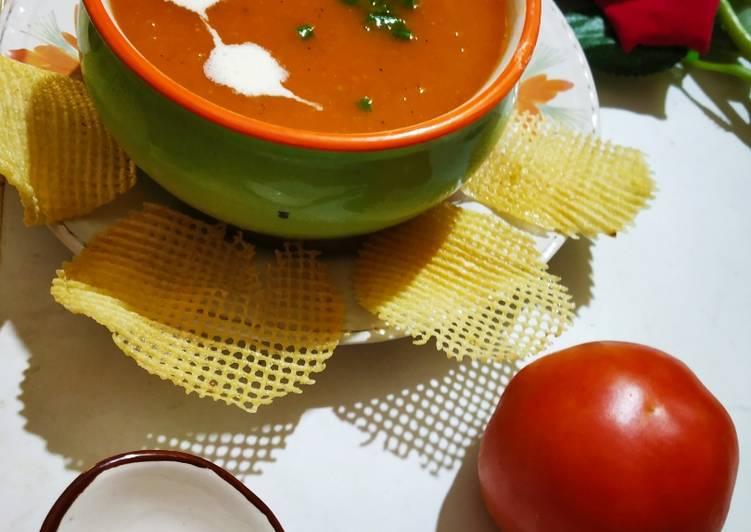 Easiest Way to Make Ultimate Tomato Soup