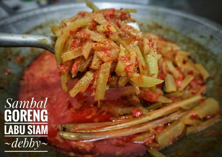 Sambal Goreng Labu Siam ~ Nasi Liwet Solo (part 2)