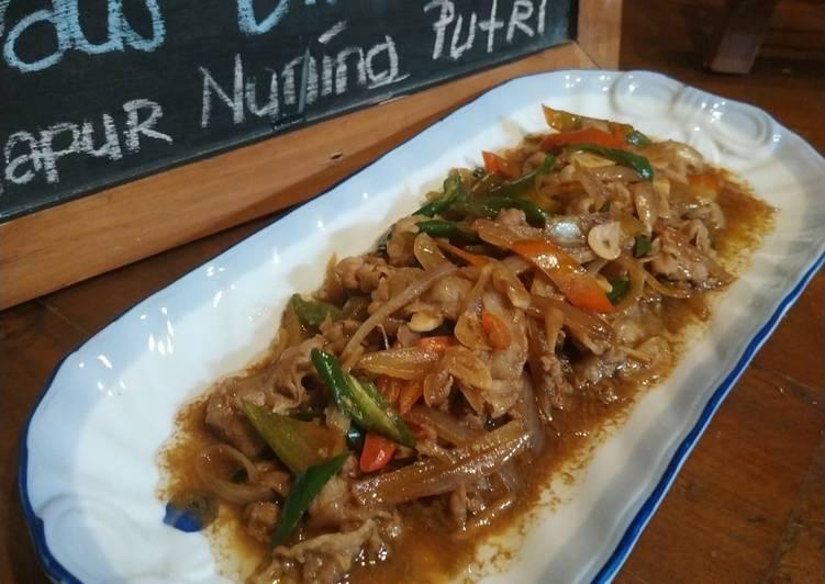 60. Beef Slice Saus Tiram