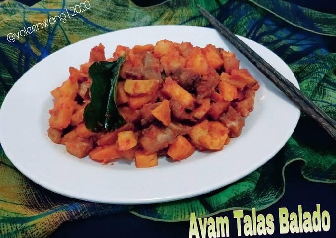 Ayam Talas Balado