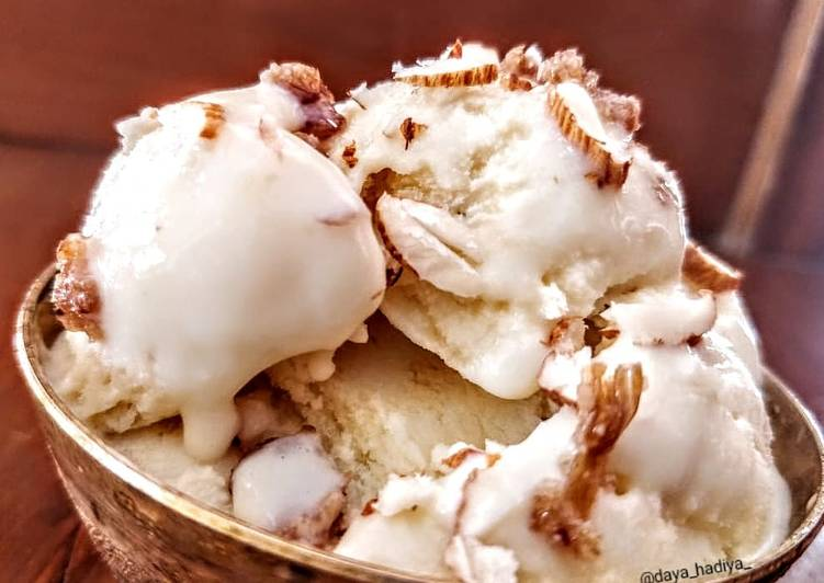 How to Make Favorite Custared Ice cream