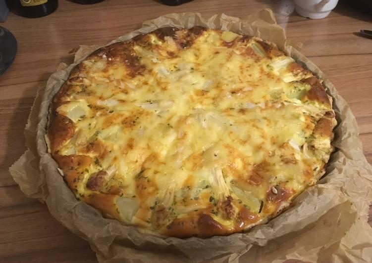 Spargel-Kartoffel Quiche