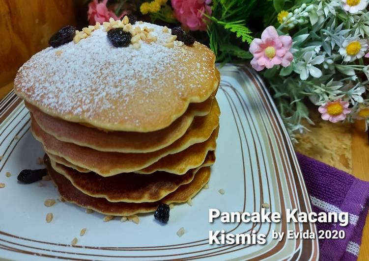 Pancake Kacang Kismis