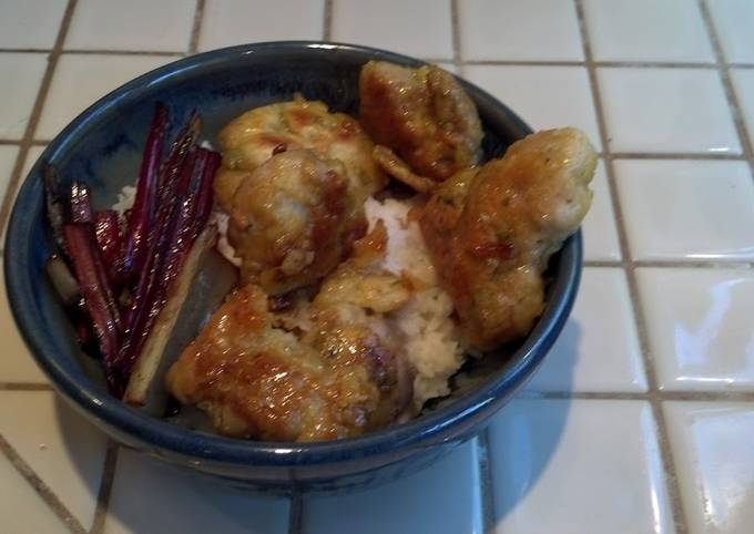 Recipe of Speedy Lemon Orange Fried Chicken