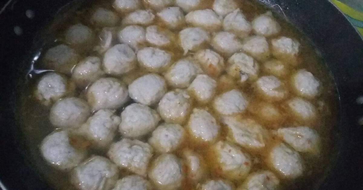 10 263 Resep Bakso Ikan Simple Enak Dan Sederhana Ala Rumahan Cookpad
