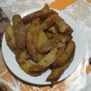 Patatas asadas picantona especiadas