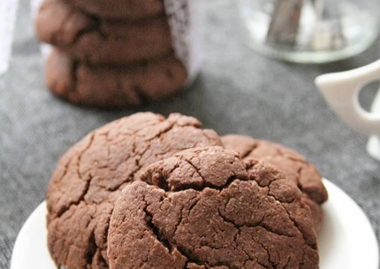 Cookies au chocolat  sans gluten, sans lait, sans oeufs