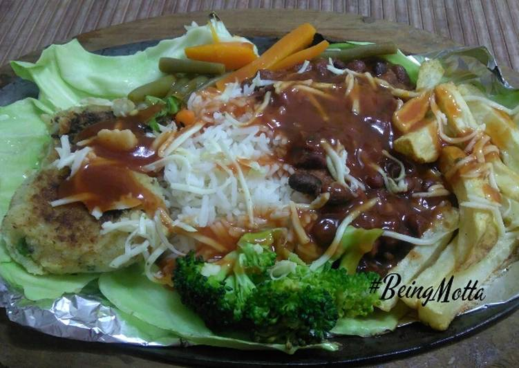 Veg Sizzler Choosing Fast Food That's Good For You