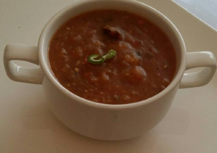 Simple Way to Make Speedy Thick vegetable soup