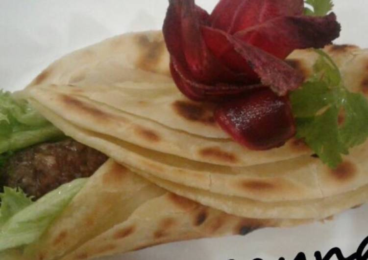 Whosayna's Seekh Kebab Paratha Rolls