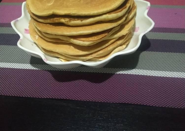 Orange 🍊 pancakes