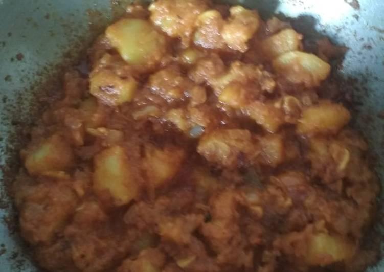 How to  Potato curry