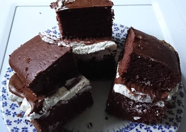 Easiest Way to Prepare Favorite Chocolate Spread Chocolate Cake