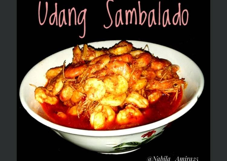 Udang Sambalado a.k.a udang Masak Habang