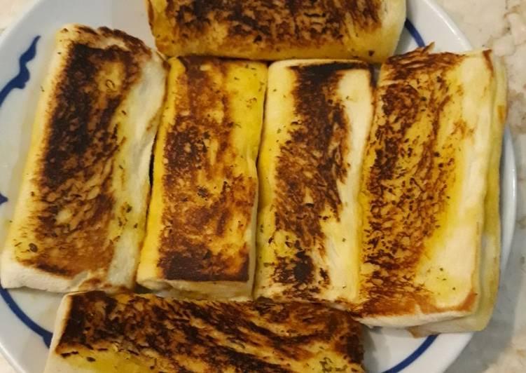 Ropang bawang putih isi sostel