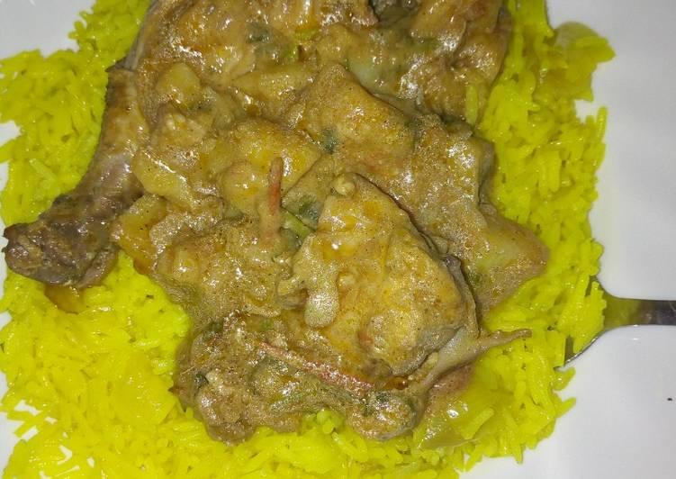 Simple Chicken Biryani