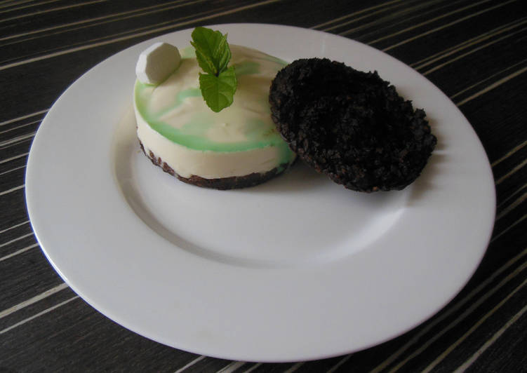"Comment faire Cuire Savoureux Cheesecake ""After Eight"""
