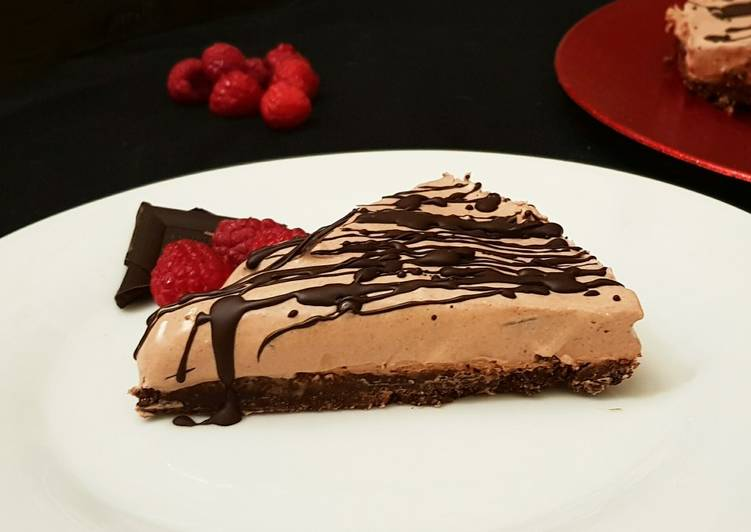 Recipe: Yummy No Bake Chocolate Cheesecake