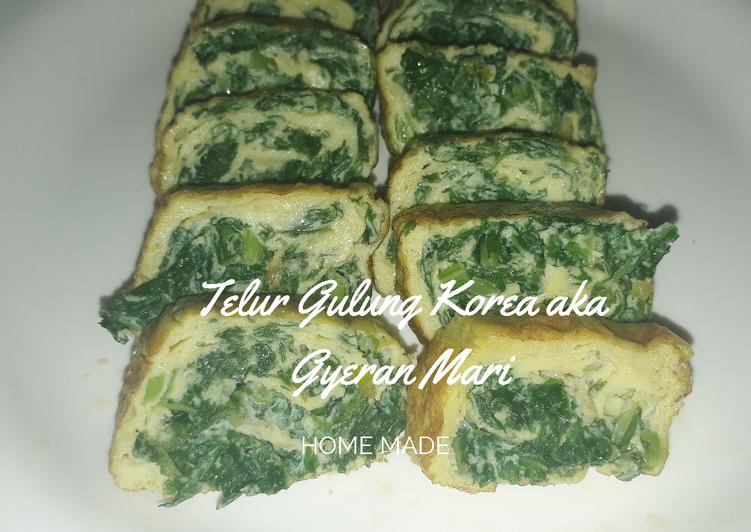 Telur Gulung Korea aka Gyeran Mari