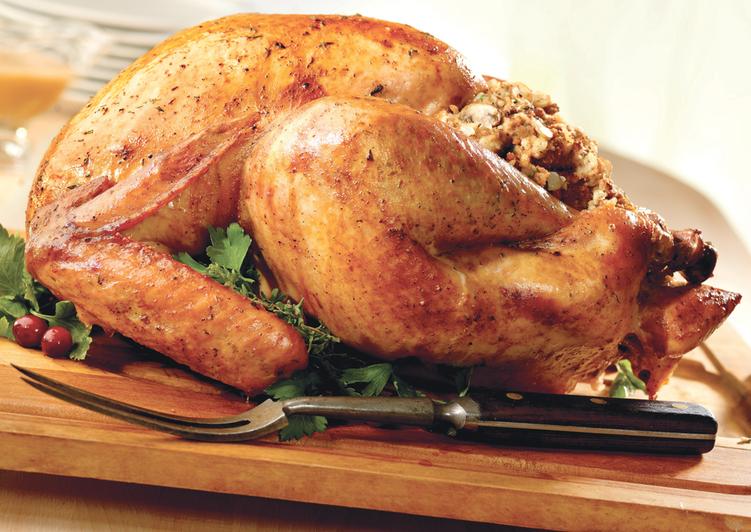 Recipe: Delicious Rosemary roast turkey