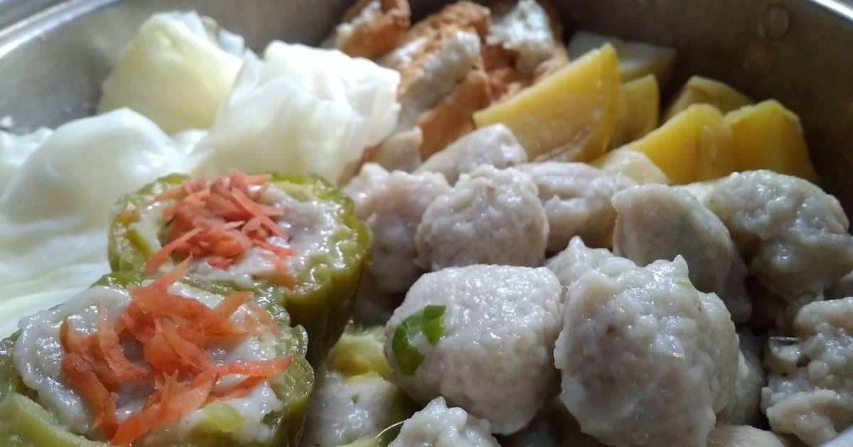resep dimsum ikan tengirii  resep ikan tenggiri fillet enak  sederhana cookpad Resepi Ikan Tenggiri Fillet Enak dan Mudah