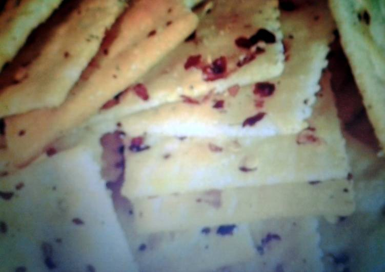 Easiest Way to Cook Appetizing spicy  fancy crackers
