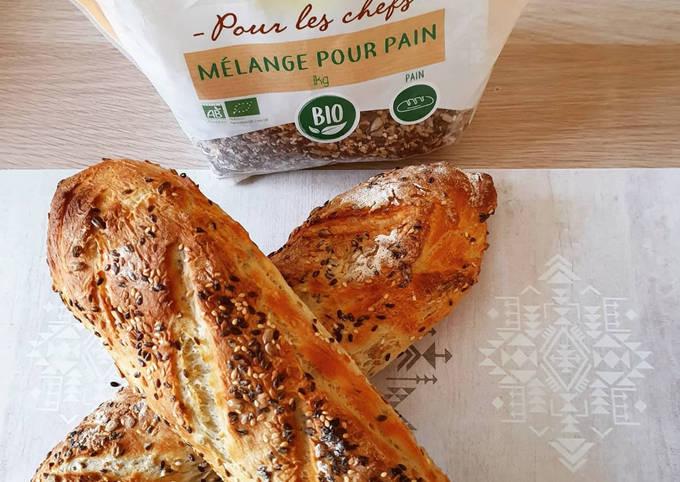 Pain tradition aux graines