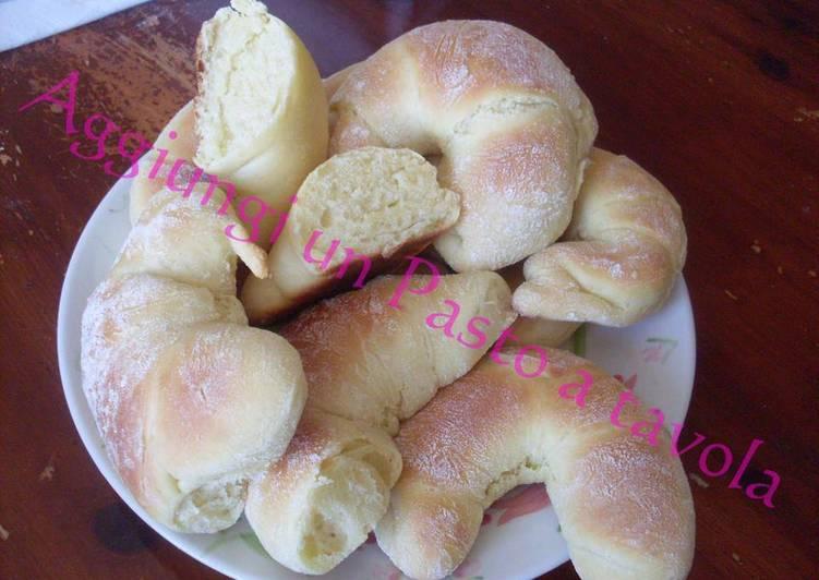 Ricetta Cornetti senza burro e senza latte (cottura al forno)