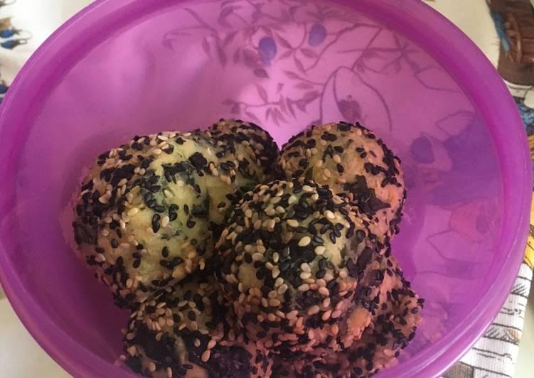 Ricetta Polpette ceci-wakame al sesamo