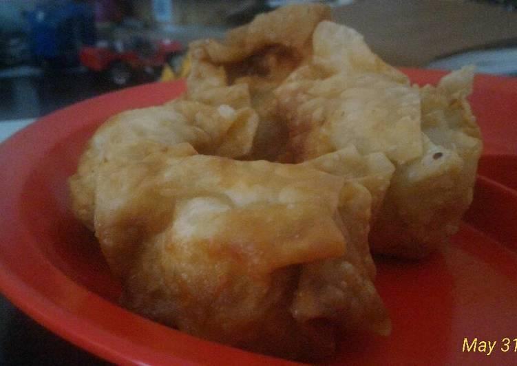 Siomay ayam udang goreng untuk anak di atas 1 tahun