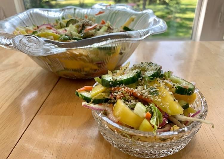 Chopped Thai Mango Salad