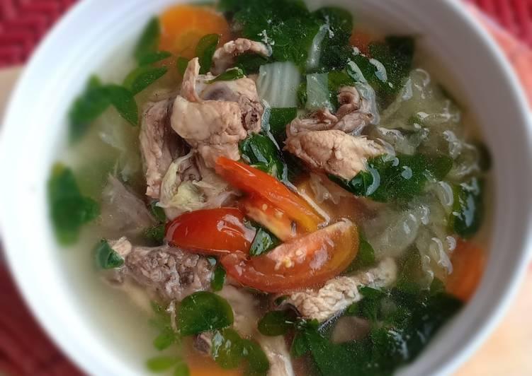 Resep Sup Ayam Daun Kelor Yang Mudah Bikin Nagih